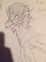 King Sombra Sketch by captain-pie