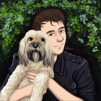 Dan with Colin by MarketaKindlova