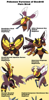 Pokemon Subspecies Beedrill by Phatmon66
