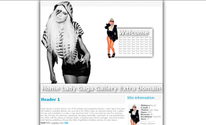 Lady Gaga template by Green-Romance
