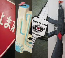 Otakon Cosplay Line up:Weapons by xTSUNNYx