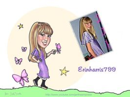 Caricature of Erin by jantheempress