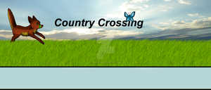 Country Crossing Banner by Meeshabishy