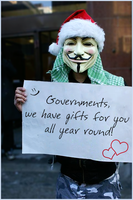 Anonymous has gifts for you ! by OpGraffiti