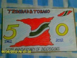 Trinidad and Tobago at 50 by artluvr4life