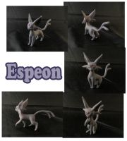 Weekly Sculpture: Espeon by ClayPita