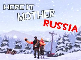 Mother Russia by MrComrade