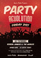 Party Revolution - Flyer Template by VectorMediaGR
