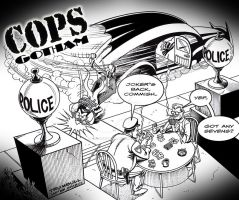 LIID Week 88: COPS: Gotham by johntrumbull