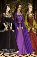 The Tudor wives by monsterhighlover3