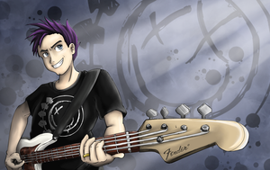 Mark Hoppus by WafflezNFries