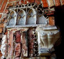 Gothic ruins VII by Vrolok-stock