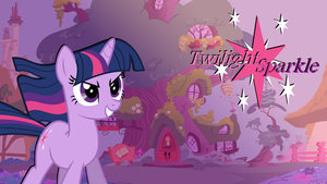 Twilight Sparkle wallpaper [Updated] by PureZparity
