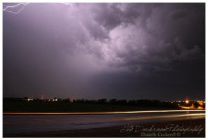 Lightning and High Beams by TheDarkRoom-Photo