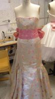 Asian bridal gown FRONT by funkyfunnybone