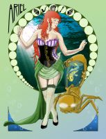 Steampunk Princesses - Ariel by Paytrah