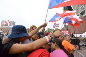 Puerto Rican/Latin Festival, Wave Those Flags by Miss-Tbones