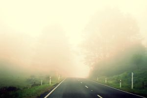 Foggy Morning Road ii by sayra