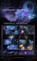 FRACTALS CALENDAR 2016 by StarsColdNight