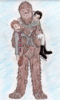 Chris, Darren and Chewie by OhhButterfly