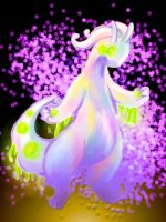 Goodra's Dragon aura by Lightning-hydreigon