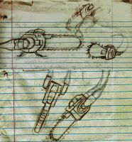 Chainsaw Sketches by arcanineryu