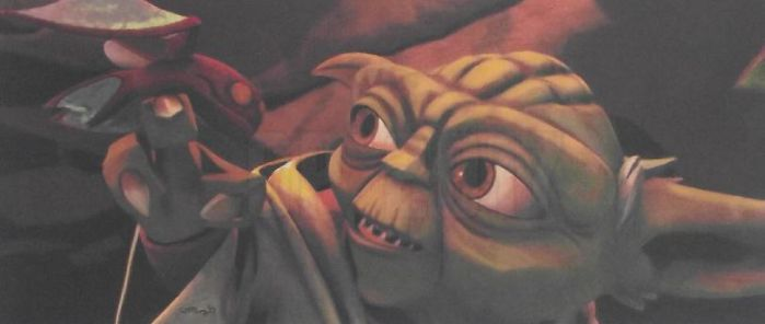 Speed Challenge 29: Yoda And Aiwha by Starfire-Productions