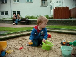 Goran in sandbox by Pinionist