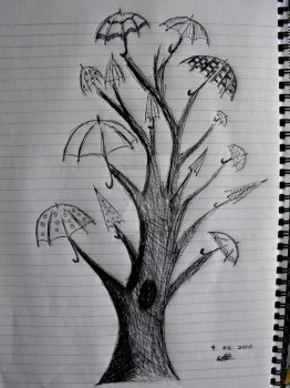 Umbrella Tree by BethanyLecureaux