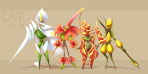 CDC - Oct 28-31: The Flower Knights by 7-Days-Luck