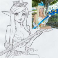 Jessica Nigri Janna League of Legends by Banzchan