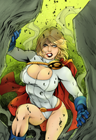 Powergirl by Sorathepanda