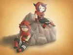 Magma admins relaxing by cocosnowlo