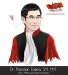 Indonesia Constitutional Court's Leader by chancil