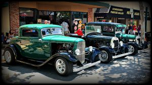 Trio Of Fords by StallionDesigns