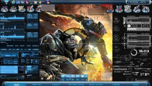 Transformers 3 Windows 7 Theme by jeromegamit