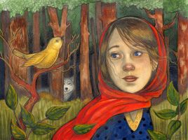little red riding hood by WhimsicalMoon