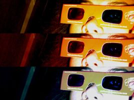 three dee glee by fat-black-heart