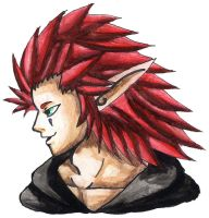 Axel in Jak and Daxter's World by AxelFlame8