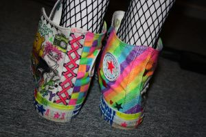Rainbow converse 6 by ScruffyFluffy