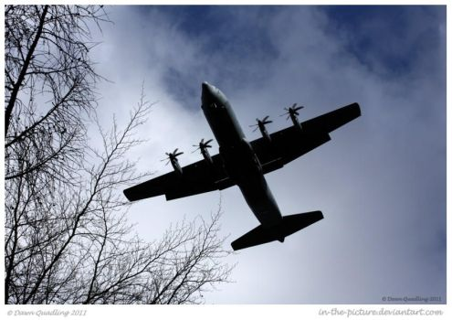 Lockheed C-130 Hercules by In-the-picture