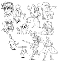 Livestream Doodles 27 by CauseImDanJones