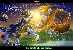 Home (Warrior Cats- Tallstar and Jake) by WarriorCat3042