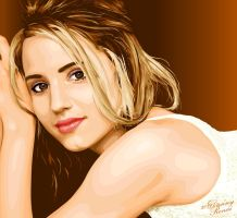 Dianna Agron Vector 2 by babyonbored