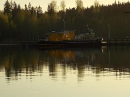 Lonely Yellow Boats by Hisamishi