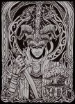 Loki the Trickster by Curse-of-Lolth