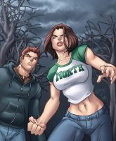 Annabel and Caleb by Lucas by DStPierre