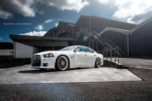 White New Gen Charger by AmericanMuscle