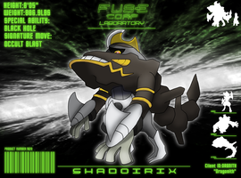 F.U.S.E Corp Lab:Shadoirix by Dragonith