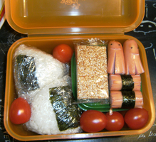First Bento by Niqesse-Pistache